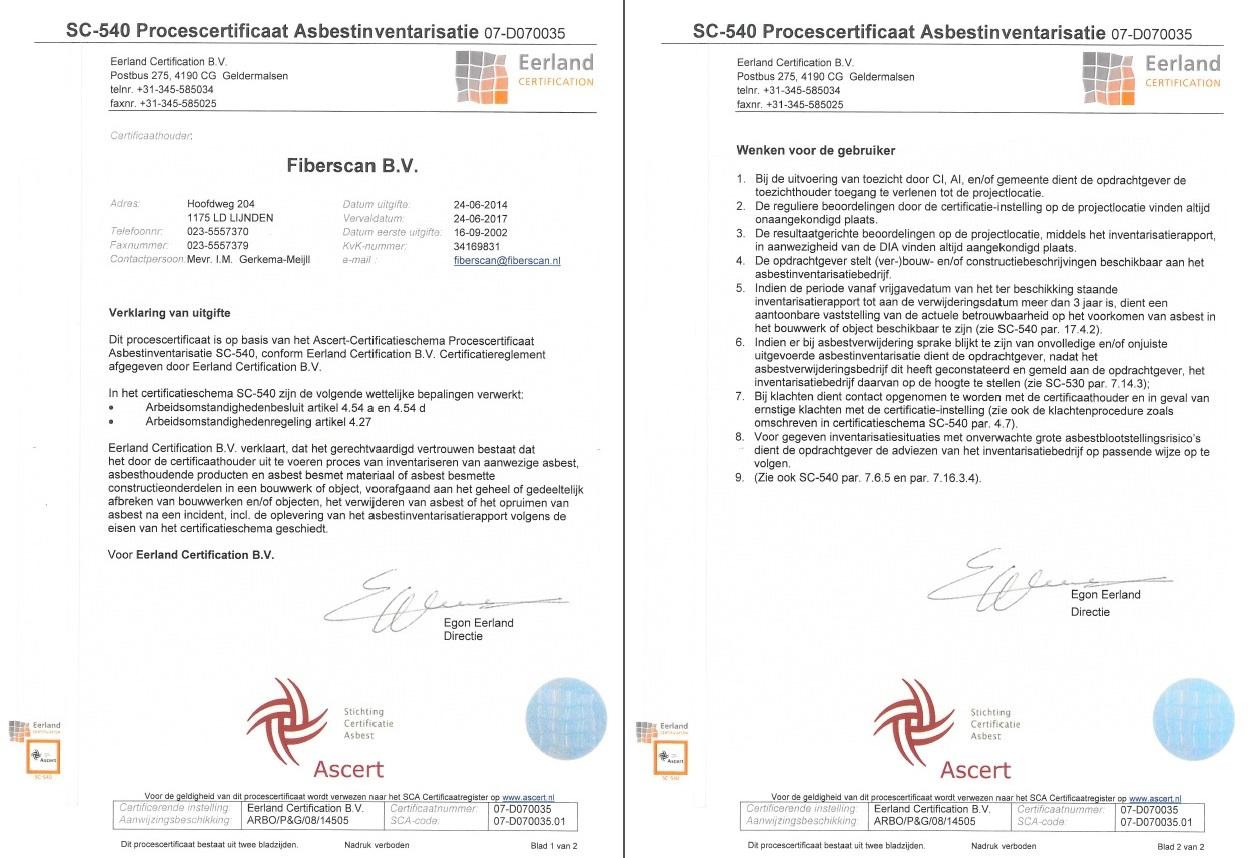SC-540-certificaat-Fiberscan